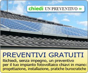 richiesta preventivi gratuiti impianti fotovoltaici